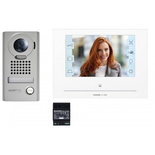 """Kit vidéo platine saillie avec moniteur écran 7"""" module WiFi intégré JOS1VW AIPHONE"""