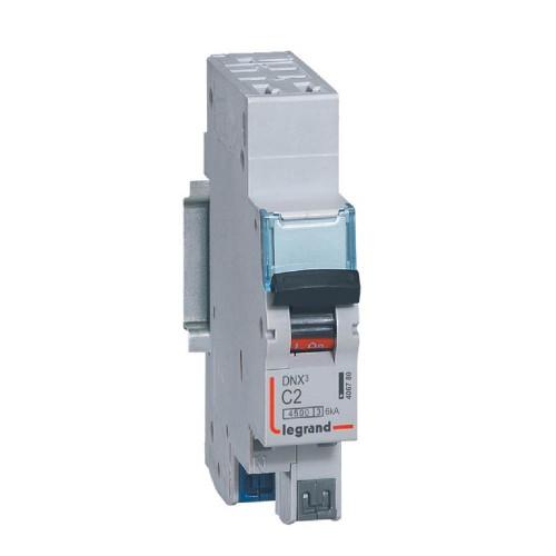 Disjoncteur Phase+Neutre 230V 2A LEGRAND