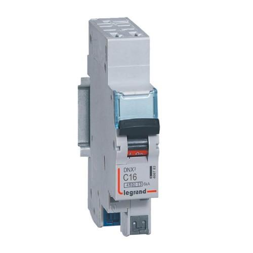 Disjoncteur Phase+Neutre 230V 16A LEGRAND
