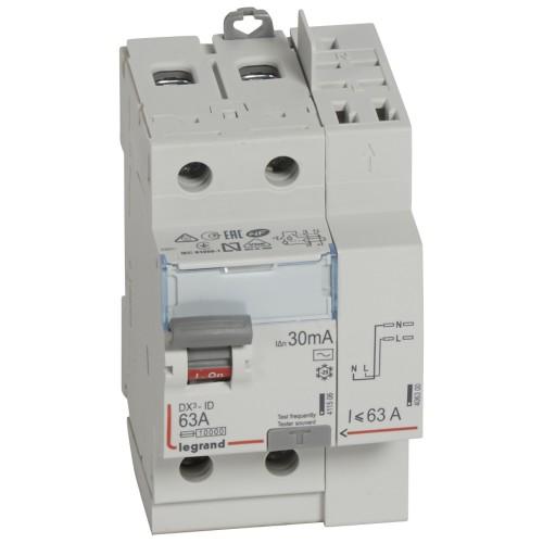 Interrupteur différentiel 230V 63A LEGRAND