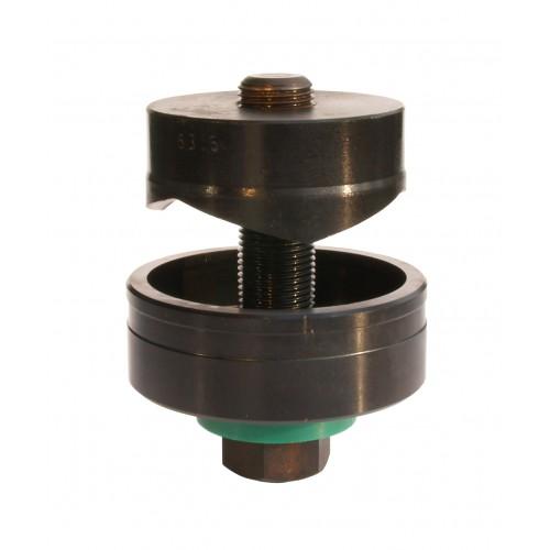 Axe hydraulique 9,5 x 75 mm pour emporte-pièce AGI ROBUR