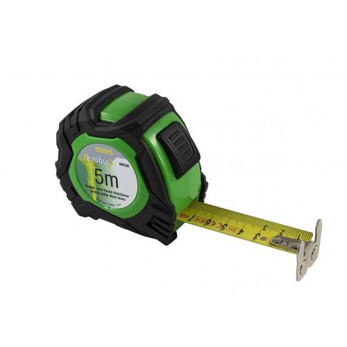 Mètre ruban auto-bloquant 5m magnétique AGI ROBUR
